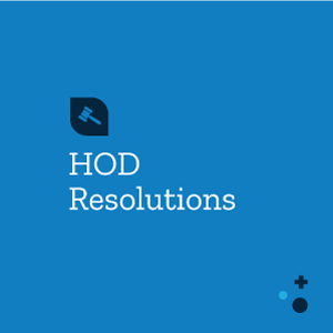 HOD Resolutions